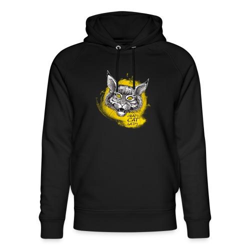 crazy cat lady - Unisex Bio-Hoodie von Stanley & Stella