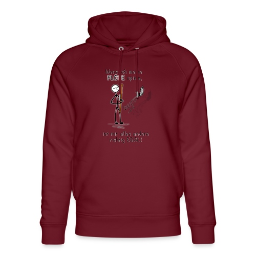 Recorder Love f. bright colours - Unisex Organic Hoodie by Stanley & Stella