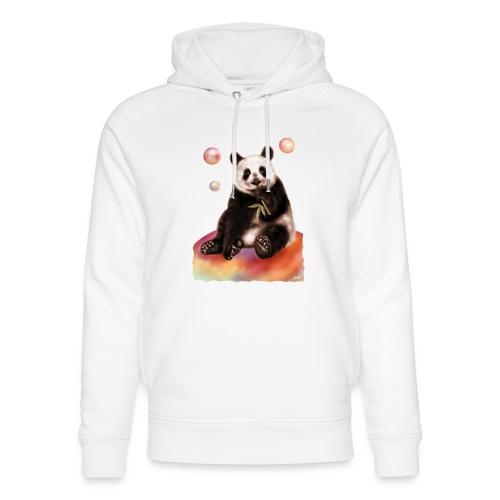 Panda World - Felpa con cappuccio ecologica unisex di Stanley & Stella