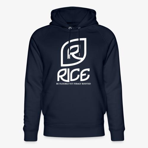 rice vector - Uniseks bio-hoodie van Stanley & Stella