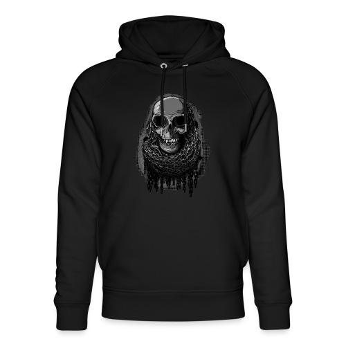 Skull in Chains - Unisex Organic Hoodie by Stanley & Stella