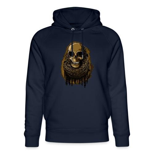 Skull in Chains YeOllo - Unisex Organic Hoodie by Stanley & Stella