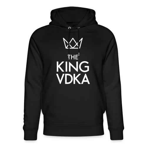 The King VDKA Logo weiss - Unisex Bio-Hoodie von Stanley & Stella