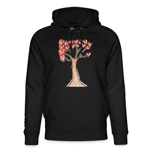 Loving Tree Isle - Unisex Organic Hoodie by Stanley & Stella