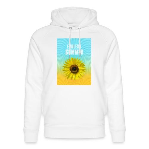 sunflower endless summer Sonnenblume Sommer - Unisex Organic Hoodie by Stanley & Stella
