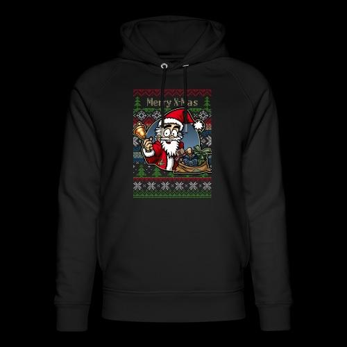 Merry X-Mas Weihnachtsmann - Unisex Bio-Hoodie von Stanley & Stella