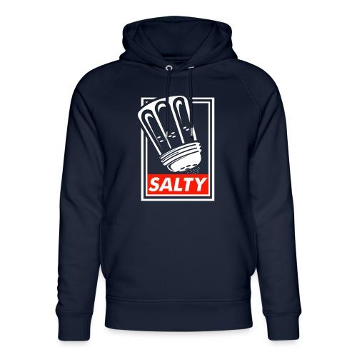 Salty white - Unisex Organic Hoodie by Stanley & Stella