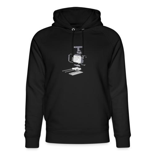 VivoDigitale t-shirt - Blackmagic - Felpa con cappuccio ecologica unisex di Stanley & Stella