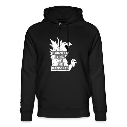 Godzilla - Ekologiczna bluza z kapturem typu unisex Stanley & Stella
