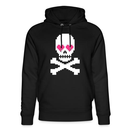 Skull Love - Uniseks bio-hoodie van Stanley & Stella