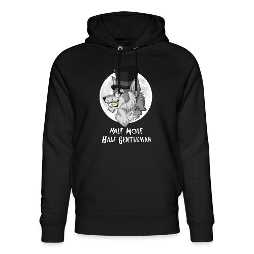 Half Wolf Half Gentleman - Unisex Organic Hoodie by Stanley & Stella