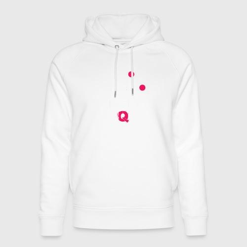 T-shirt FUQU logo colore bianco - Felpa con cappuccio ecologica unisex di Stanley & Stella