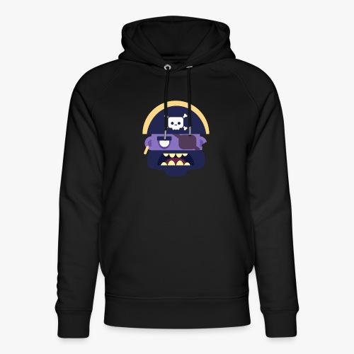 Mini Monsters - Captain Zed - Stanley & Stella unisex hoodie af økologisk bomuld