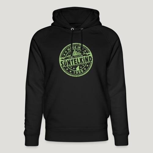 SÜNTELKIND 1999 - Das Süntel Shirt mit Süntelturm - Unisex Bio-Hoodie von Stanley & Stella
