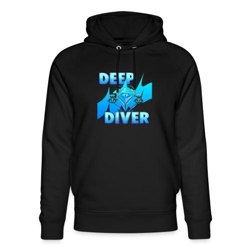 Deep Diver, Ocean Diamond. - Unisex Organic Hoodie by Stanley & Stella