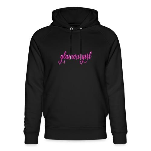 Glamourgirl dripping letters - Uniseks bio-hoodie van Stanley & Stella