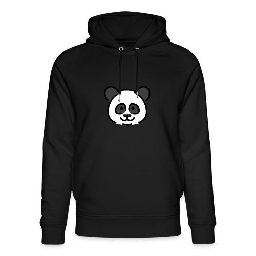 panda head / cabeza de panda - Sudadera con capucha ecológica unisex de Stanley & Stella
