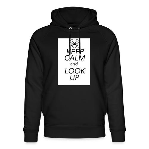 Keep Calm and Look Up - Uniseks bio-hoodie van Stanley & Stella