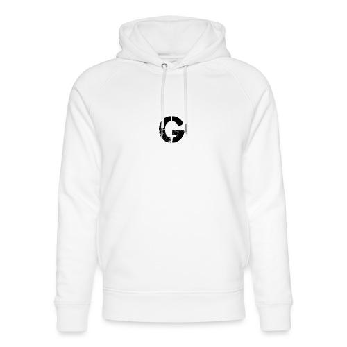 Logo GX SPORTNER blanc - Sweat à capuche bio Stanley & Stella unisexe