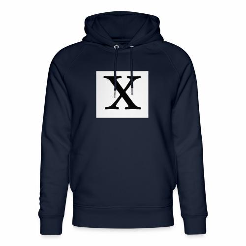 THE X - Unisex Organic Hoodie by Stanley & Stella