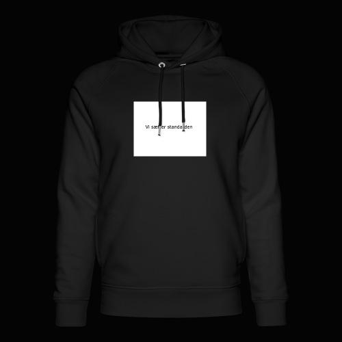 Vi Sætter Standarden - Stanley & Stella unisex hoodie af økologisk bomuld