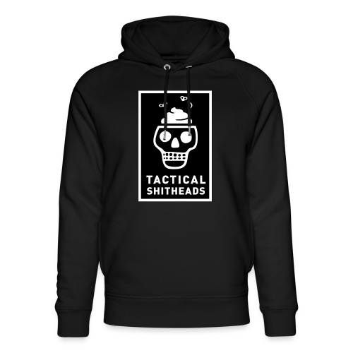 Tacshit Shitheadskull - Unisex Bio-Hoodie von Stanley & Stella