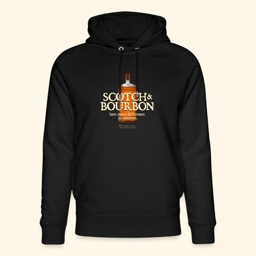 Whisky Spruch Scotch & Bourbon - Unisex Bio-Hoodie von Stanley & Stella