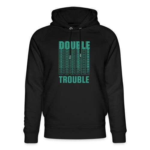 double trouble, double trouble, double trouble sher - Unisex Organic Hoodie by Stanley & Stella