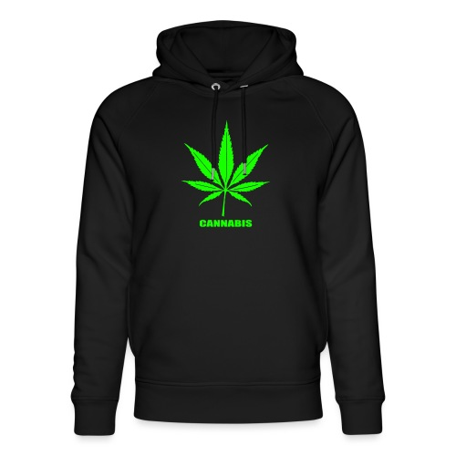 cannabis, cannabis community, amsterdam, art, love - Unisex Organic Hoodie by Stanley & Stella