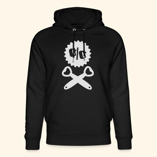 Bier T Shirt Design Piratenflagge - Unisex Bio-Hoodie von Stanley & Stella