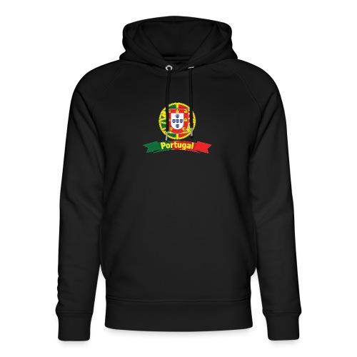 Portugal Campeão Europeu Camisolas de Futebol - Unisex Organic Hoodie by Stanley & Stella
