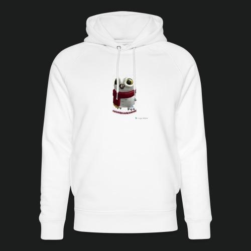 Merch white snow owl - Uniseks bio-hoodie van Stanley & Stella