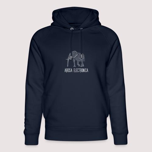 Elefant Weiss - Unisex Bio-Hoodie von Stanley & Stella