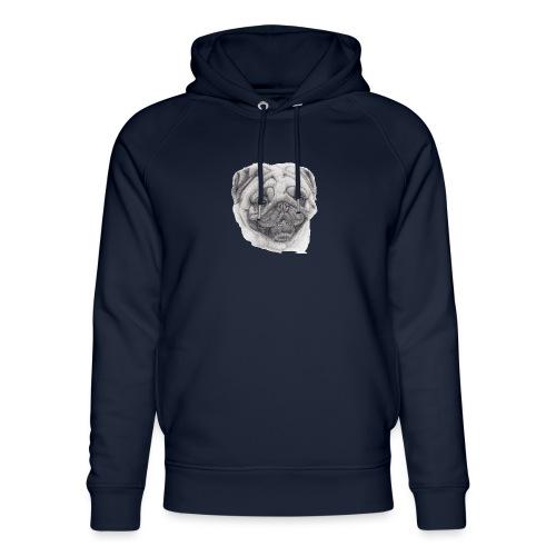 Pug mops 2 - Stanley & Stella unisex hoodie af økologisk bomuld