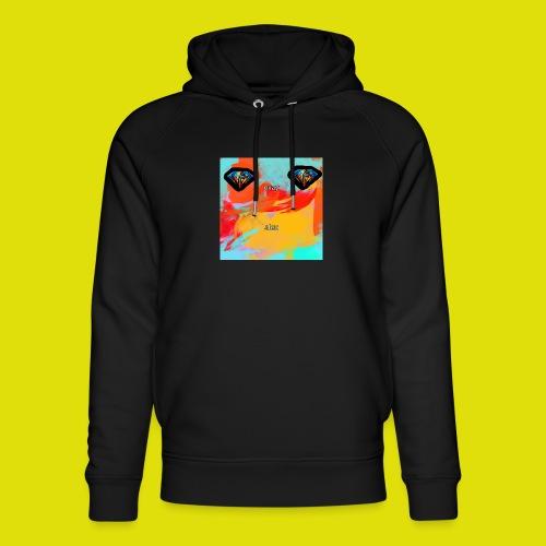 grey hoodie youtube logo - Unisex Organic Hoodie by Stanley & Stella
