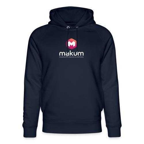 MAKUM Logo ja teksti - Stanley & Stellan unisex-luomuhuppari