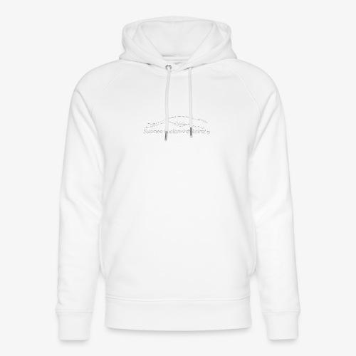 SUP logo valkea - Stanley & Stellan unisex-luomuhuppari