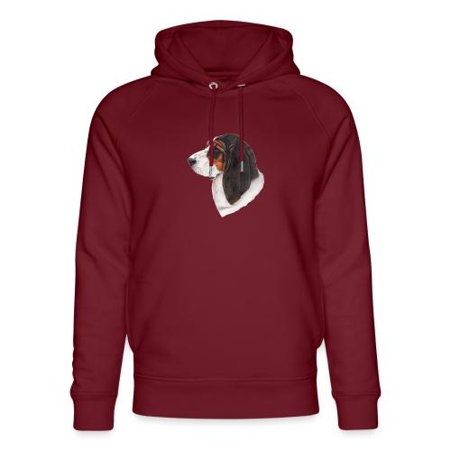 bassethound color - Stanley & Stella unisex hoodie af økologisk bomuld