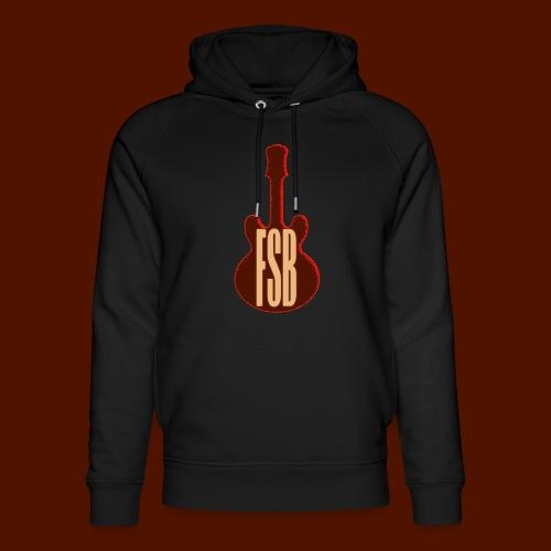 FSB Guitar Logo - Unisex Organic Hoodie by Stanley & Stella