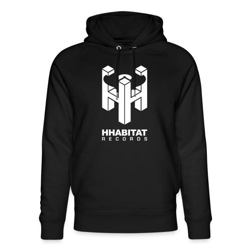 HHabitat Records Logo - Felpa con cappuccio ecologica unisex di Stanley & Stella