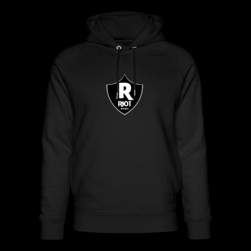 riot Nation logo schwarz - Unisex Bio-Hoodie von Stanley & Stella