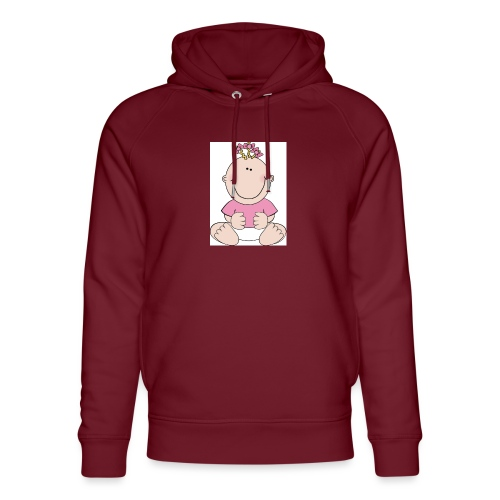 rompertje meisje - Uniseks bio-hoodie van Stanley & Stella