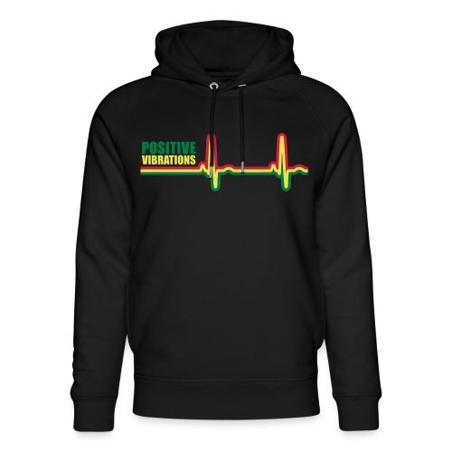 POSITIVE VIBRATION - Unisex Organic Hoodie by Stanley & Stella