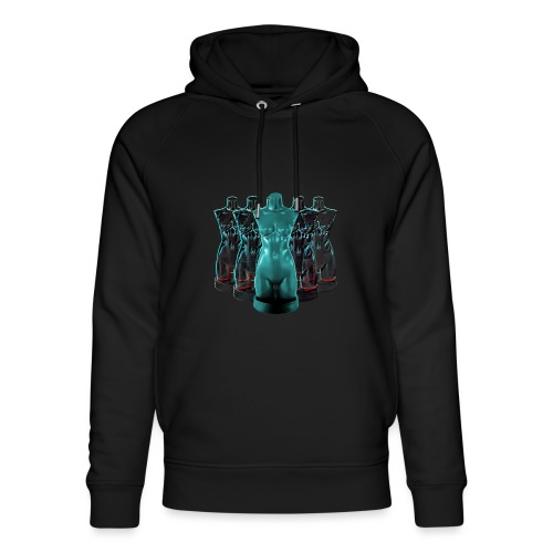Lady Rosso Corsa and Her Dancers (turquoise) - Stanley & Stella unisex hoodie af økologisk bomuld
