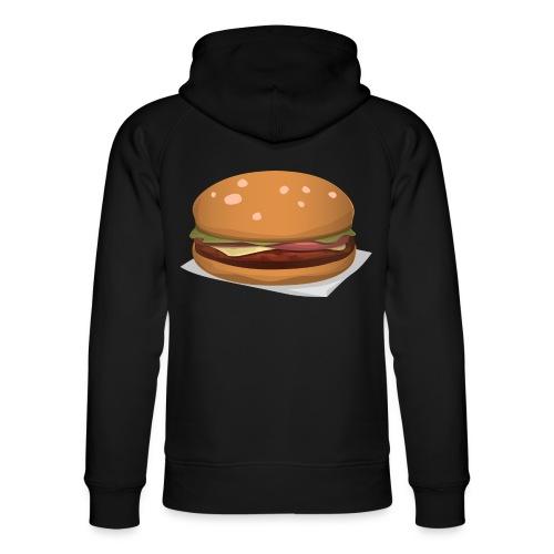hamburger-576419 - Felpa con cappuccio ecologica unisex di Stanley & Stella