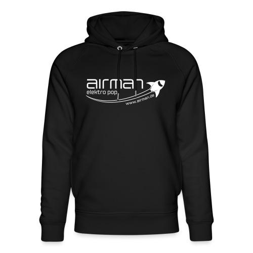 airman logo + elektro pop + www.airman.de - Unisex Bio-Hoodie von Stanley & Stella
