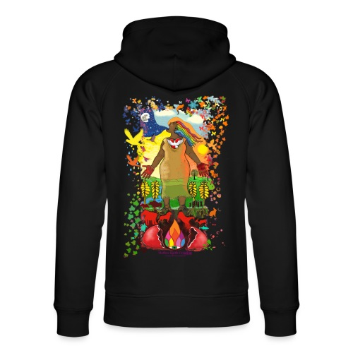 Mother Earth Creating - Uniseks bio-hoodie van Stanley & Stella