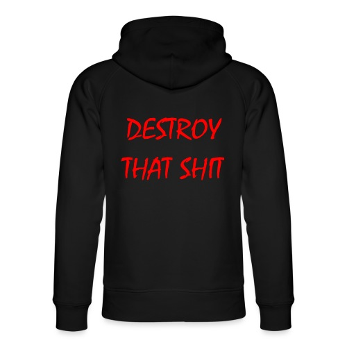 DestroyThatSh ** _ red - Unisex Organic Hoodie by Stanley & Stella