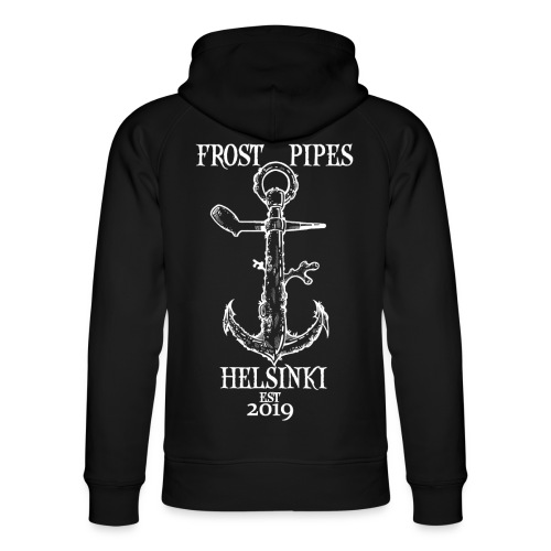 Frost Anchor - Unisex Organic Hoodie by Stanley & Stella