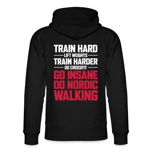 Nordic Walking - Go Insane - Stanley & Stellan unisex-luomuhuppari